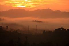 Ratchaprapa-Verdammung Suratthani, Thailand. Lizenzfreie Stockfotografie