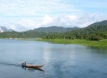 Ratchaprapa Verdammung: versteckter Himmel in Thailand Lizenzfreies Stockbild