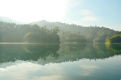 Ratchaprapha Dam Royalty Free Stock Image