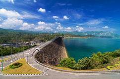 Ratchaprapha Dam. Khaosok is Thailand's Guilin Stock Photo