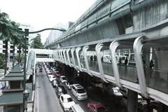 Ratchaprasong district in Bangkok Royalty Free Stock Photos