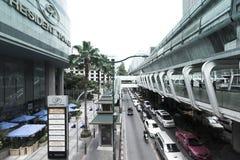 Ratchaprasong district in Bangkok Royalty Free Stock Photo