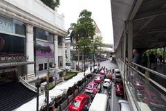 Ratchaprasong district in Bangkok Stock Photos