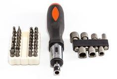 Ratchet Screwdriver Tool Kit Stock Photography