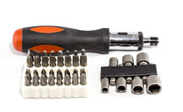 Ratchet Screwdriver Tool Kit Royalty Free Stock Photography