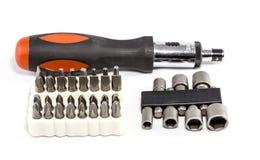 Ratchet Screwdriver Tool Kit Royalty Free Stock Image