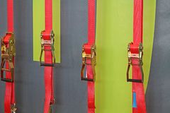 Free Ratchet Straps Royalty Free Stock Photography - 144905887