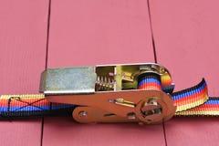 Ratchet straps Royalty Free Stock Photography