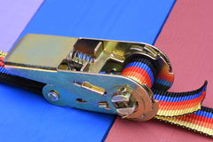 Ratchet straps Stock Image