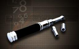 Ratchet tool Stock Image