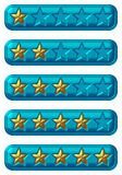 Rate Buttons Royalty Free Stock Images
