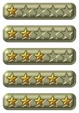 Rate Buttons Royalty Free Stock Photo