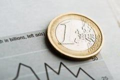 Rate des Euros (flacher DOF) Lizenzfreie Stockbilder