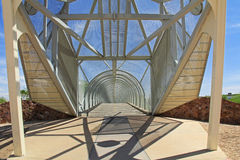 Ratelslangbrug in Tucson Arizona Stock Afbeelding