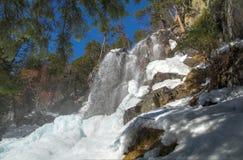 Ratera waterfall Royalty Free Stock Image