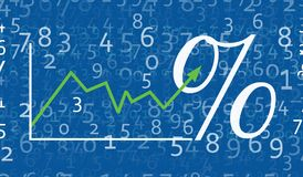 Rates Chart Stock Images