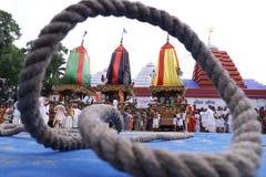 Rath yeatra mayapur Colorful, celebration. Annual Festival of India o rath yatra mayapur Colorful, celebration royalty free stock photography