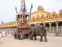 Ratha Festival at Nanjangud Stock Image