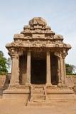 Ratha at Mahabalipuram. One of the five rathas at Mahabalipuram, India Stock Photography