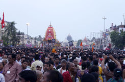 Ratha Yatra at evening Royalty Free Stock Photo