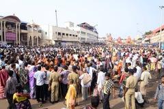 Ratha Yatra Morning Royalty-vrije Stock Afbeeldingen