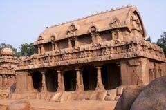 Rathas de Pandava, la India Fotografía de archivo libre de regalías
