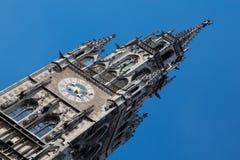 Rathaus慕尼黑 免版税库存图片