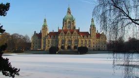 Rathaus汉诺威 免版税图库摄影