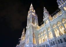 Rathaus à Vienne photos libres de droits
