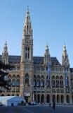 Rathaus (αίθουσα πόλεων) στη Βιέννη, Αυστρία Στοκ φωτογραφία με δικαίωμα ελεύθερης χρήσης