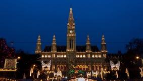 rathaus Βιέννη αιθουσών πόλεων στοκ φωτογραφίες με δικαίωμα ελεύθερης χρήσης