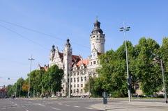 rathaus της Γερμανίας Λειψία neues Στοκ Φωτογραφία
