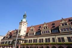 rathaus Германии leipzig altes Стоковые Фотографии RF