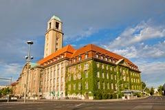 柏林斯潘道城镇厅(Rathaus斯潘道),德国 免版税图库摄影
