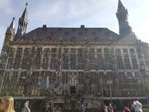 Rathaus in Aachen Stockfotografie