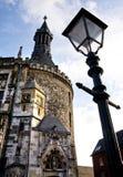 Rathaus, Aachen Stockfotos
