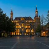 Rathaus - Aachen, Deutschland Stockfotos