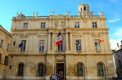 Rathaus, Arles, Frankreich stockbilder