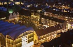 Rathaus auf Kohlen-Markt in Lübeck Lizenzfreie Stockfotografie