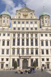 Rathaus, Augsbourg Images stock