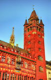 Rathaus, Basel Town Hall - Switzerland Stock Photos