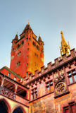 Rathaus, Basel Town Hall - Switzerland Stock Photo