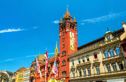 Rathaus, Basel Town Hall - Switzerland Royalty Free Stock Image