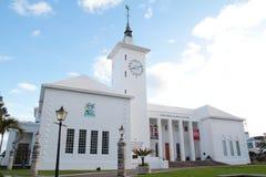 Rathaus in Bermuda Stockbild
