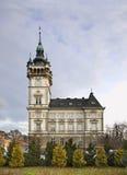Rathaus in Bielsko-Biala polen stockbild