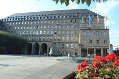 Rathaus in Bochum Stockbild