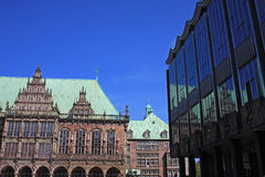 Rathaus, Bremen Royalty Free Stock Photo