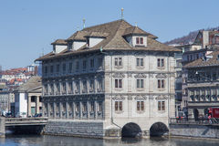 Rathaus building in Zurich Stock Photography