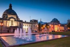 Rathaus, Cardiff, Großbritannien Lizenzfreie Stockfotografie