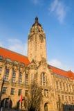 Rathaus Charlottenburg - de administratieve bouw in Charlott Stock Afbeelding